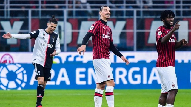 Juve-Milan - Ibra-Ronaldo