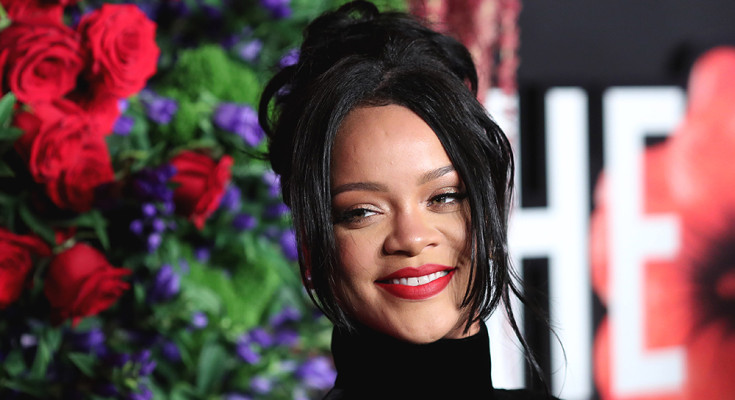 Mandatory Credit: Photo by John Photography/Shutterstock (10412504fo) Rihanna 5th Annual Clara Lionel Foundation Diamond Ball, Arrivals, Cipriani Wall Street, New York, USA - 12 Sep 2019