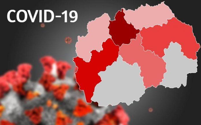 Tetë të vdekur  199 të infektuar dhe 120 të shëruar në Maqedoni