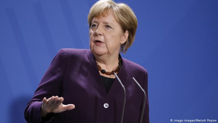 E papritur  Merkel ndan Maqedoninë nga Shqipëria për procesin e integrimit në BE