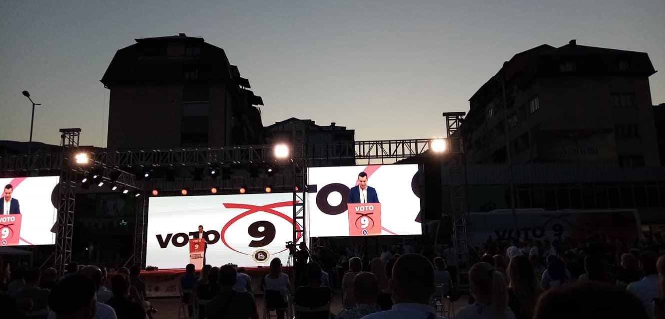 Faton Ahmeti  Brenda këtyre 18 viteve të funksionimit BDI arriti të ndërrojë sistemin politik